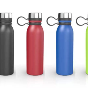 Practical Plastic Waterproof Dry Container Bottle with Lanyard Blue Fushia